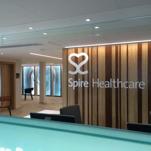 spire-healthcare-internal-sign